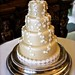 Daisy Chain Wedding Cake at Wiston House