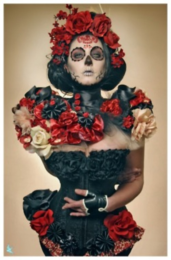 DIY La Catrina Day of the Dead Halloween costume ...