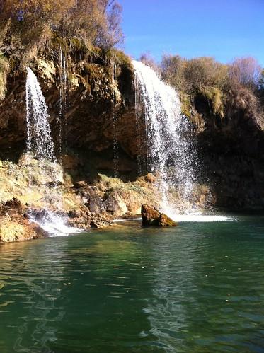 Cascada del molino, El Vallecillo, Teruel.
