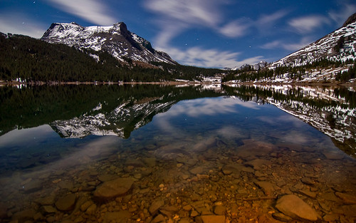 Late Night at Tioga Lake