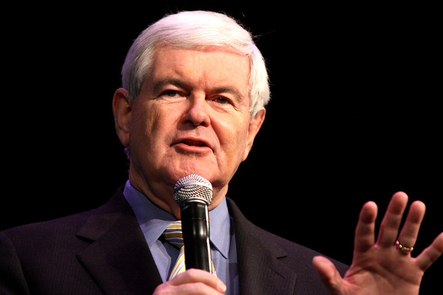 Newt Gingrich Sued Over Eye of the Tiger