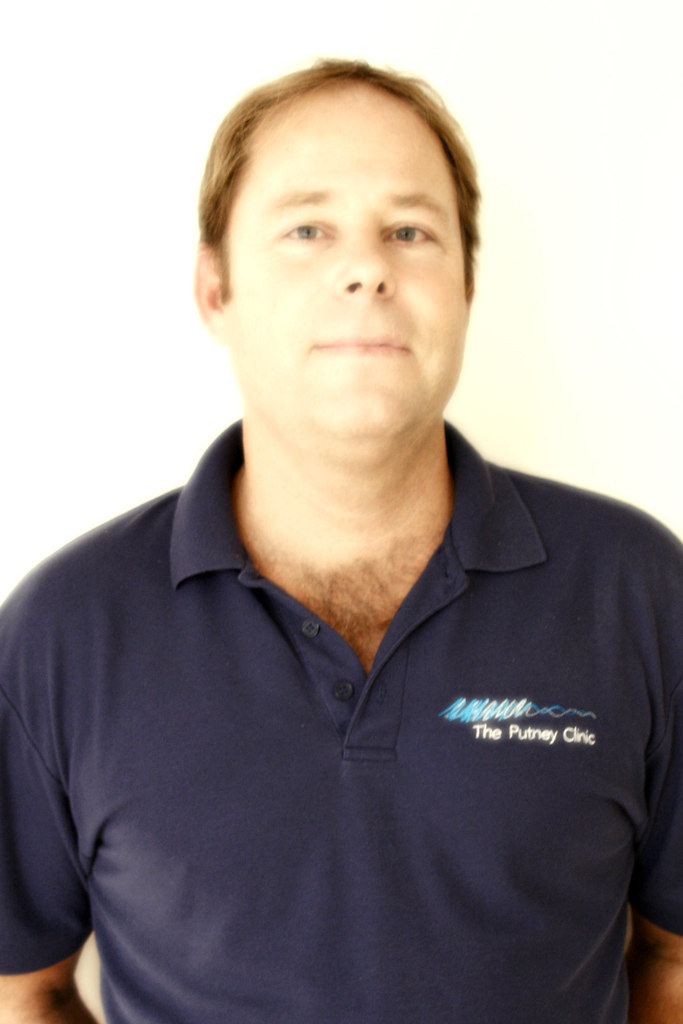 Clinic Director & Osteopath, Clive Lathey