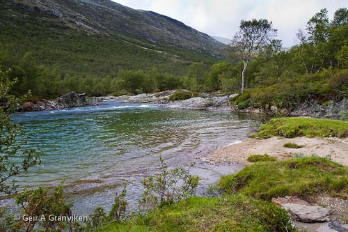 norway river landscape norge dovre nor dovrefjell landskap elv lesja oppland