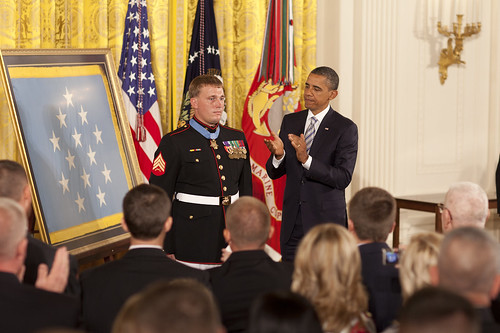 Medal of Honor for a humble man