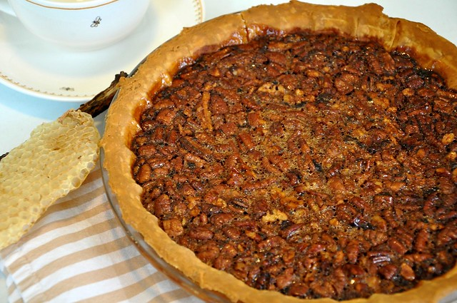 Honey Pecan Pie from above | Flickr - Photo Sharing!