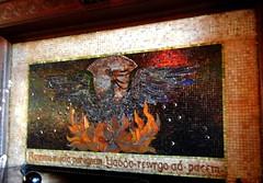 Tiffany 'Phoenix' mosaic, Yaddo