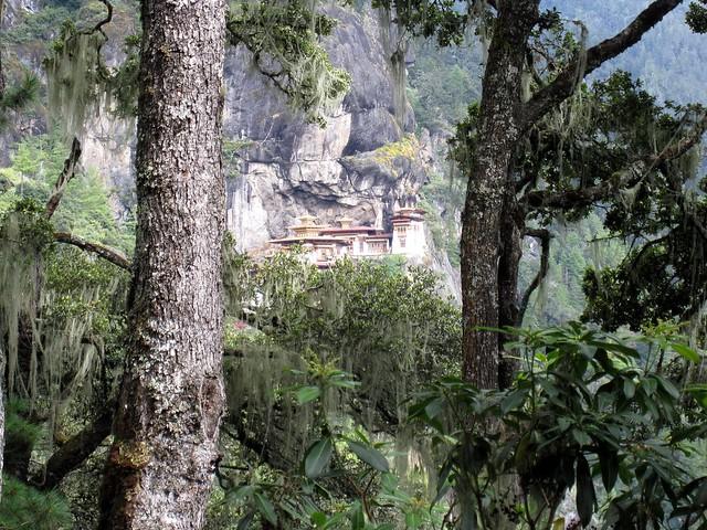 El monasterio Taktsang, Bután.