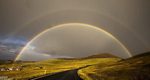 have you ever captured a rainbow? .... how about two?