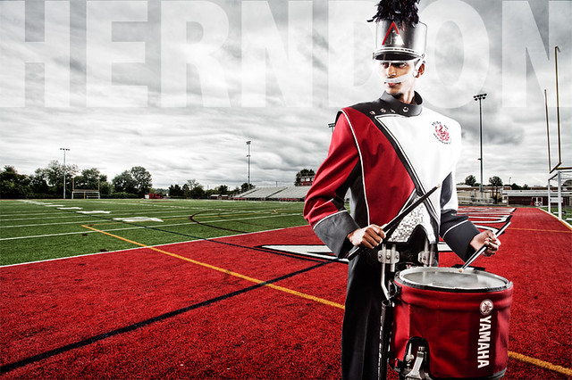 Herndon High School Band Percussion Captain Flickr