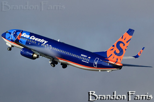N809SY Sun Country Airlines 737-8Q8
