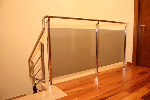 Thpcerrajeros sl inox vidrio for Barandillas de acero inoxidable y cristal