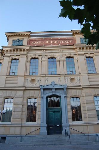 Kungl Biblioteket, la bibliothèque nationale de Suède.