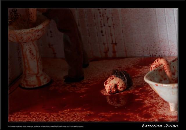 Bloody bathroom murder scene flickr photo sharing for Bathroom scenes photos