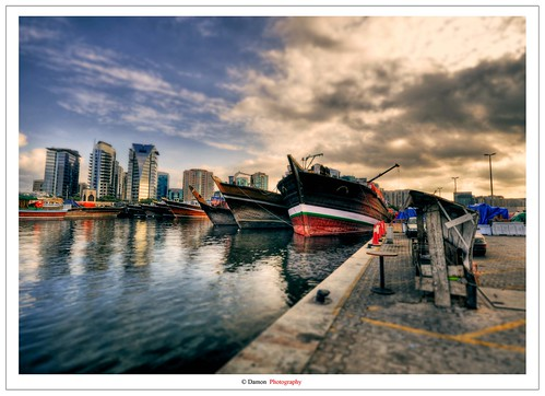 old city sunset sea sky cloud sun seascape reflection set clouds port ancient nikon dubai ship ships uae shift sigma shore mm scape 1020 hdr tiltshift sigma1020mm d90 khor photomatix nikond90