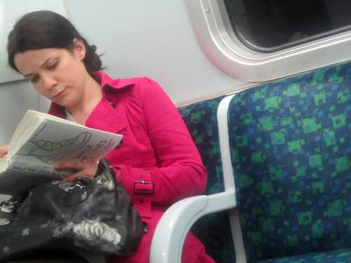 Reading Walk the Lines on the Tube