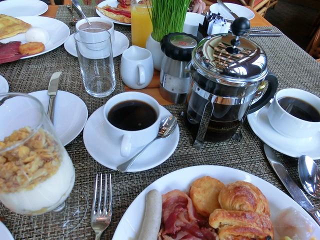 buffet breakfast in Sofitel Saigon Plaza(ソフィテル サイゴン プラザの朝食)
