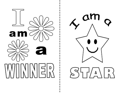 Printable affirmations quotes quotesgram for Self esteem coloring pages