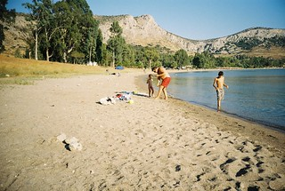 Imagine de Καραθώνα. beach lomo greece nafplion