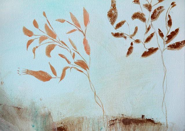 Campos, valles y prados, detail trees