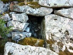 Castellu di Chirgini Visconti : la guérite de l'entrée