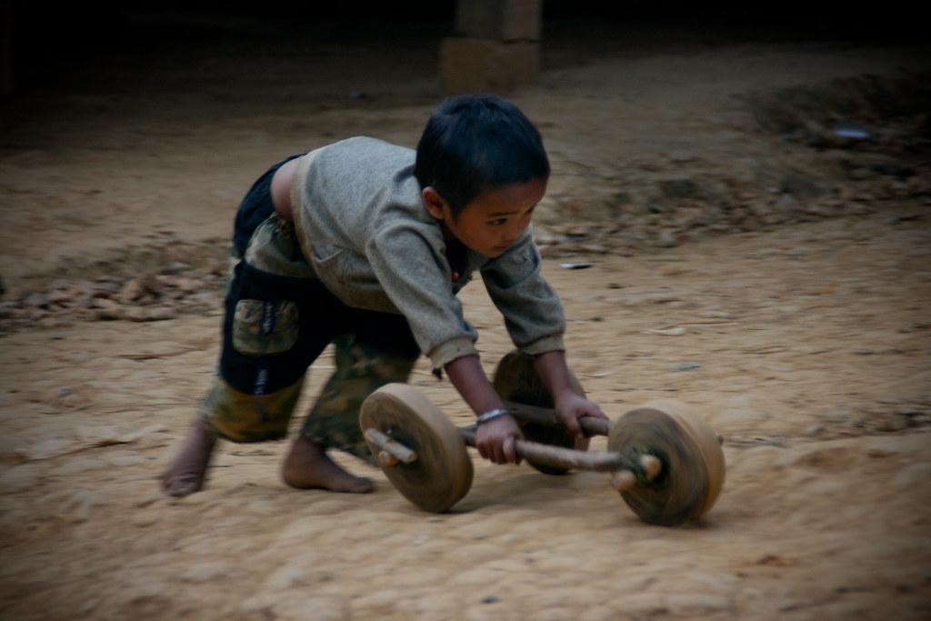 Boy in Laos