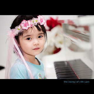 Khanh Minh by the Piano