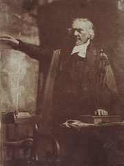 Rev. Thomas Chalmers, Preacher and social reformer (shown preaching), 1843, by Hill and Adamson