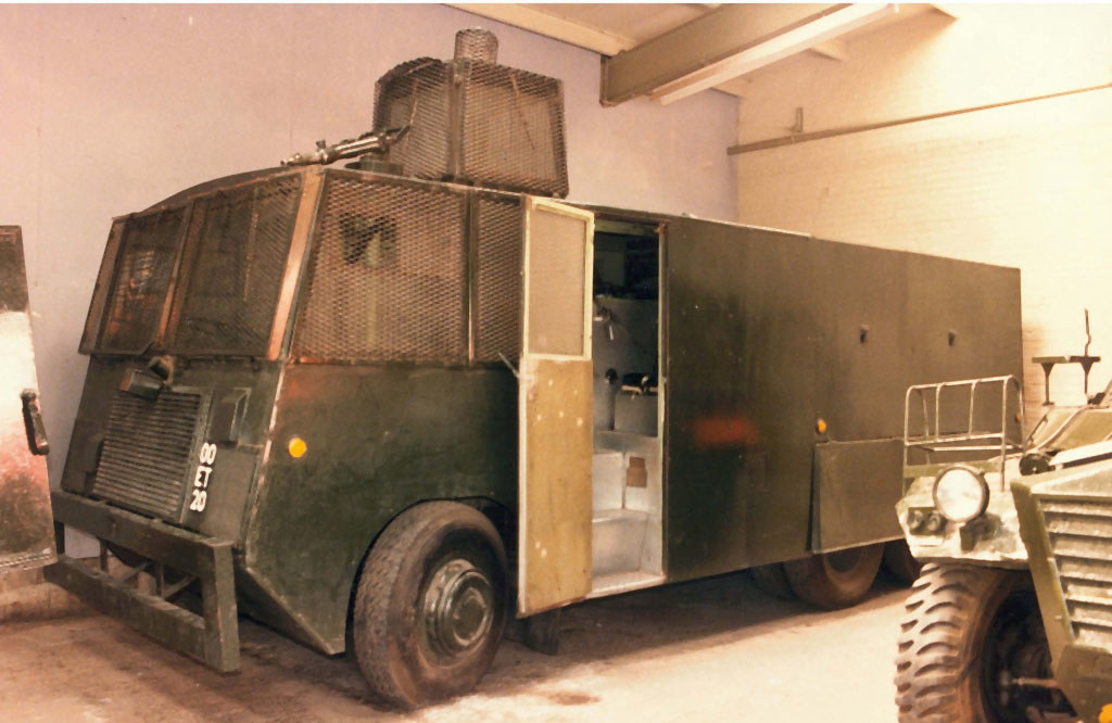 Foden/Pyrene Riot Control Van Water Cannon