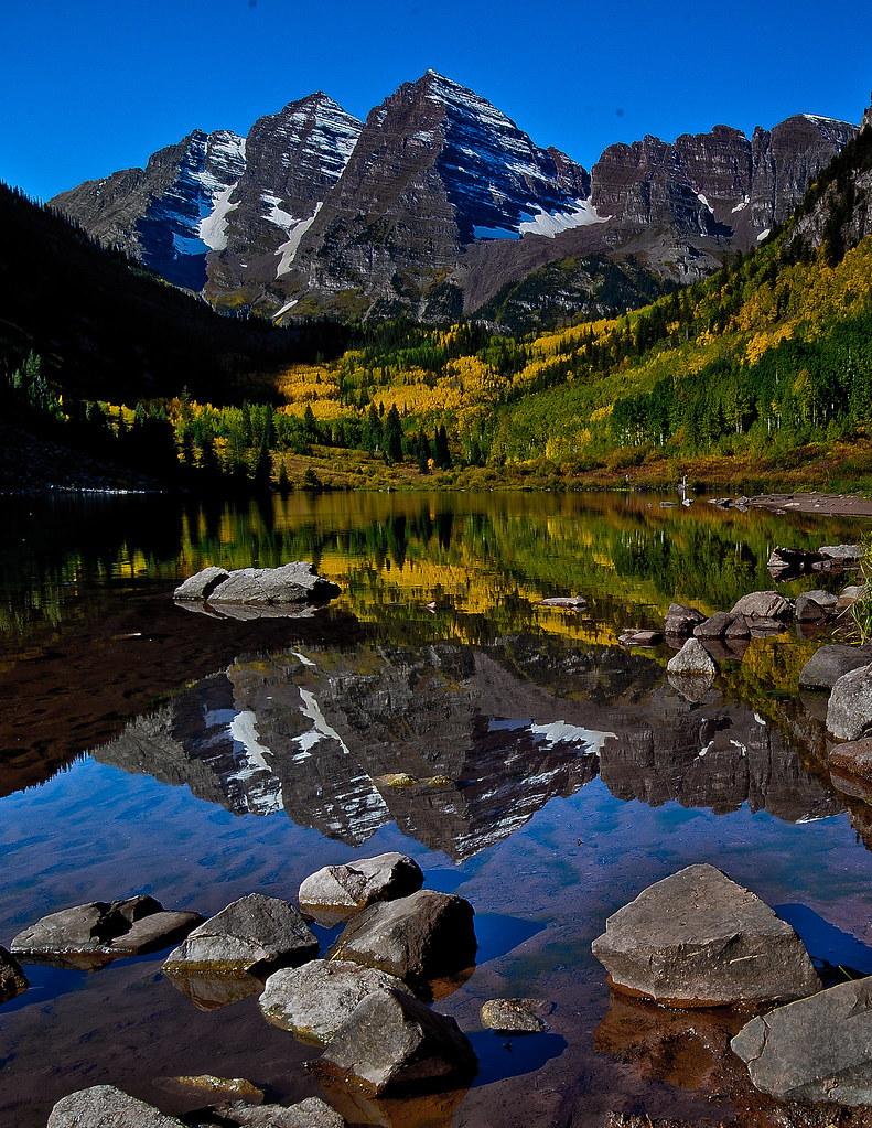 Photographing America: Maroon Bells - Cover