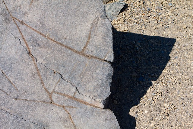 Angular Rock and Shadow