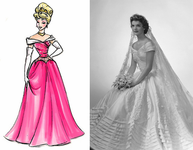 Disney Princess Wedding Dresses Aurora : Aurora and jackie kennedy s wedding dress flickr photo