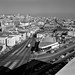 View East on Geary at Lyon of Geary Expressway Site and City, 1958- X4387_2 by SFMTA Photo Archive