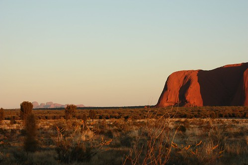 Sunrise at Uluru / Ayers Rock - Northern Territory - (Australia)