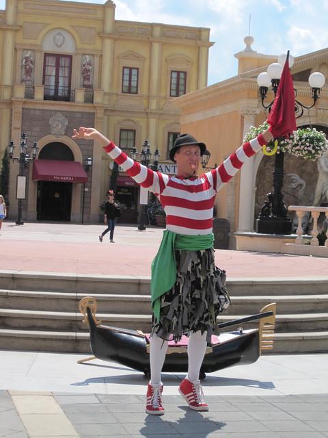 Ta Da! Italian Clown
