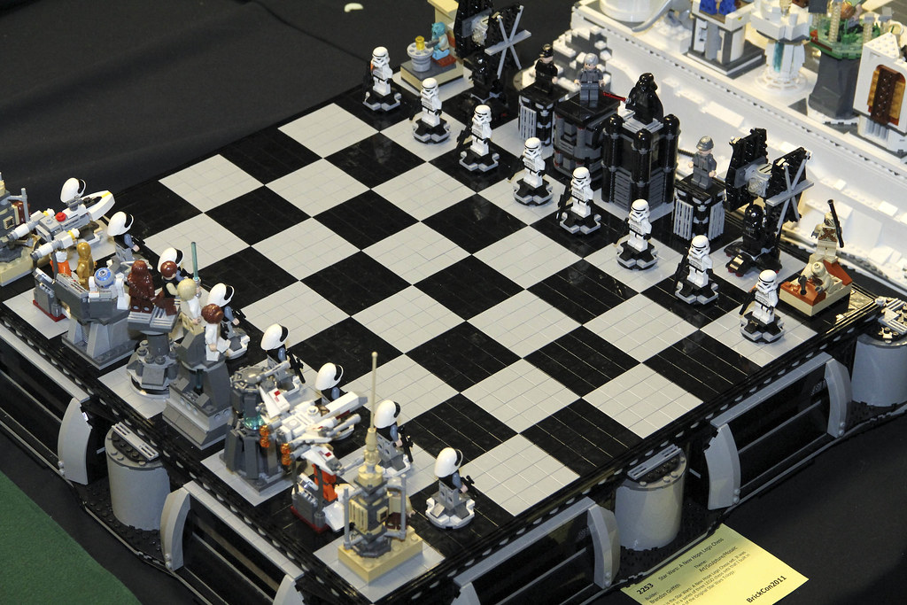 Lego Star Wars A New Hope Chess Set By Brandon Griffith