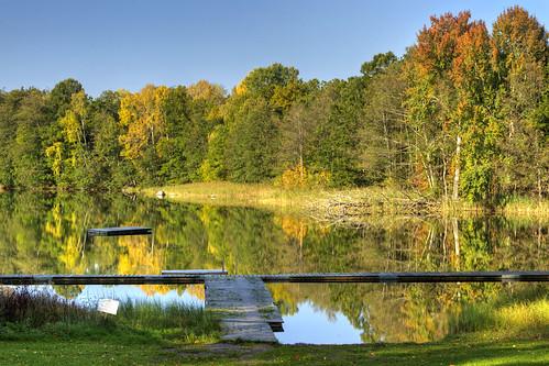 autumn trees reflection fall river sweden sverige hdr stångån östergötland canonefs1785mmf456isusm bjärkasäby canoneos7d ginordicoct