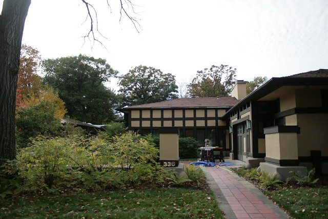 Design Study: Coonley House. Riverside, Illinois. Frank Lloyd Wright.
