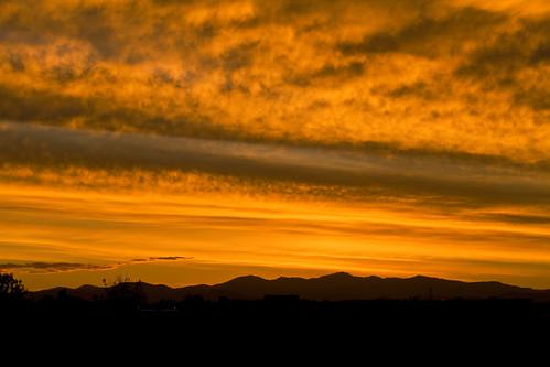 sunset colorado nature orange sky clouds silhouette canon zajdowicz outdoor serene landscape field ef70200mmf4lisusm eos 7d dslr digital availablelight