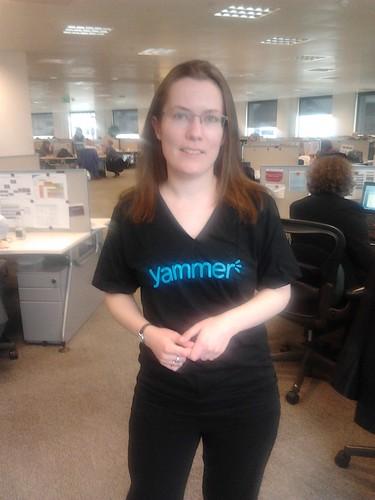 Yammer t-shirt