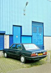 BMW 520i, 1986, Amsterdam, Nieuwe Hemweg, 09-2010