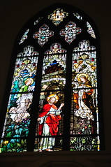Stained Glass, The Cathedral Basilica of the Immaculate Conception