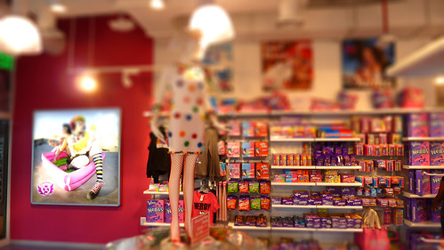 It S Sugar Candy Store Inner Harbor Tiltshift A Currell
