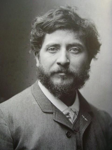 Portrait de Jean Carriès (1855-1894), Paul Nadar
