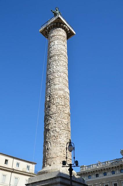 Column of Marcus Aurelius, Rome