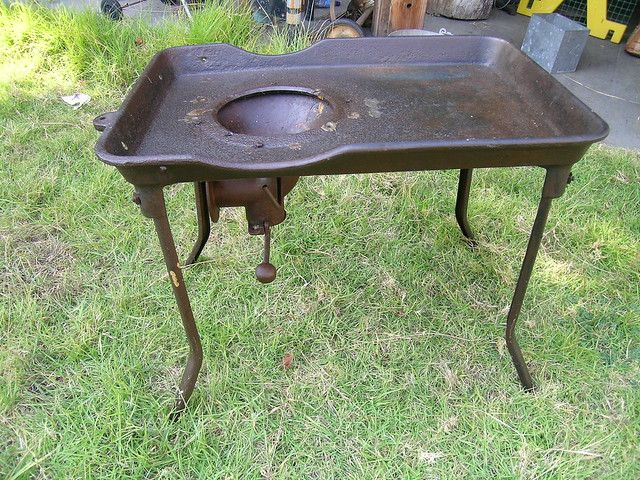 Cast Iron Blacksmith 39 S Forge Table Flickr Photo Sharing