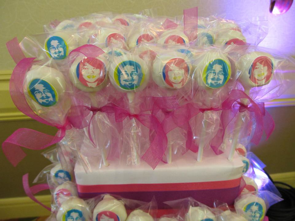 Edible Image Cake Pops