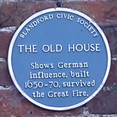 Photo of The Old House blue plaque