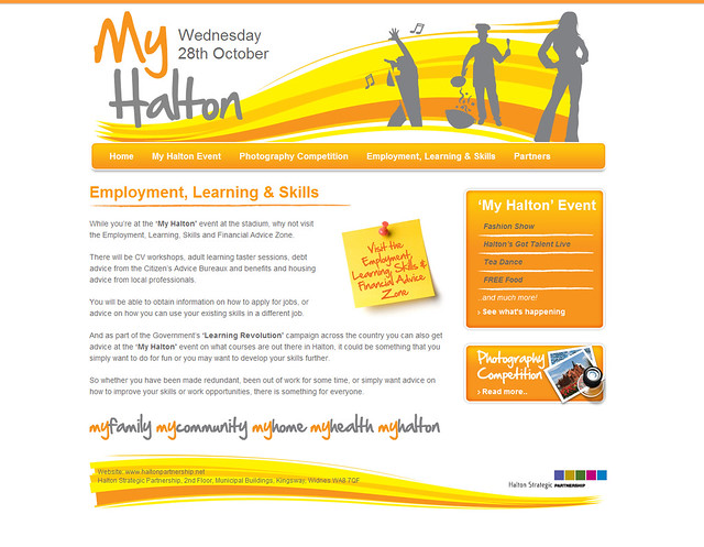 myhalton website