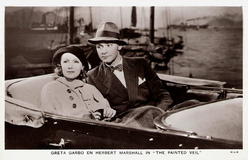 Greta Garbo, Herbert Marshall, The Painted Veil