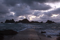 Stormy Incoming Corbiere Tide